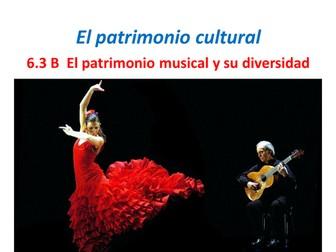 AQA A Level Spanish. El Patrimonio Musical. 6.3.B