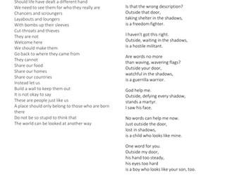 Unseen poetry AQA 9-1 Spec GCSE