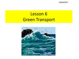 Energy 6 - Green Transport - jho
