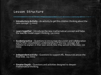 Angles - Year 3 - Mastery - 5 Lessons