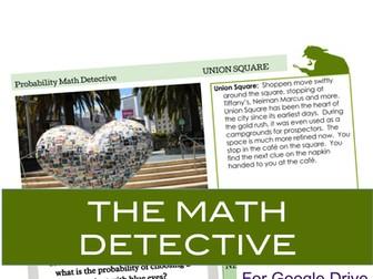 Probability Digital Math Detective for Google Drive
