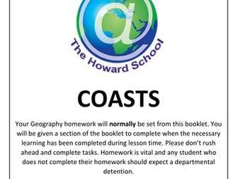 KS3 Coasts Homework Booklet