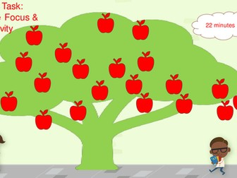 Apple tree power Point timer. 60 slides 1 - 60 minutes. Time on Task: Increase Focus & Productivity