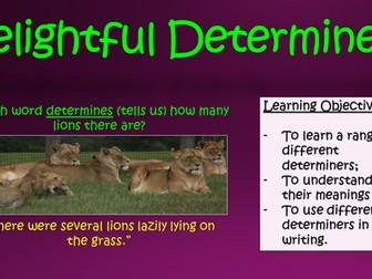 Delightful Determiners!