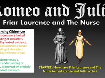 friar laurence and the nurse in The nurse and friar laurence are responsible for romeo and juliet's death this research paper the nurse and friar laurence are responsible for romeo and juliet's death and other 64,000+ term papers, college essay examples and free essays are available now on reviewessayscom.