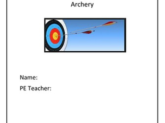 Archery Booklet