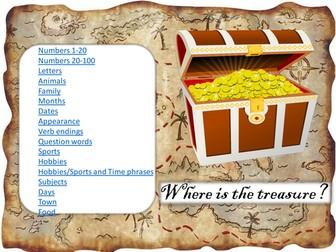 Vocabulary Treasure Hunt