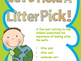 Understanding of the World - Earth Day Litter Pick