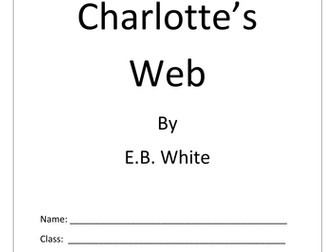Charlotte's Web Activity Booklet