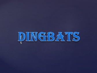 End of Term Dingbats Quiz
