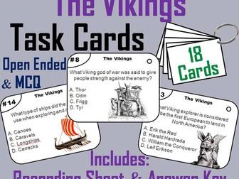 The Vikings Task Cards
