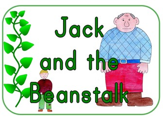 Jack and the Beanstalk story sack resources