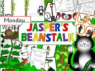 Jasper's Beanstalk story sack resources
