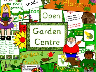 Garden Centre role play- growing