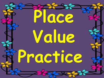 Place Value Revision