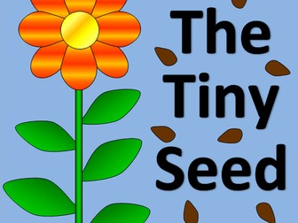 The Tiny Seed story sack pack- growing, seasons