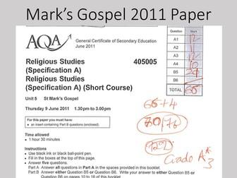 Mark's Gospel A* paper