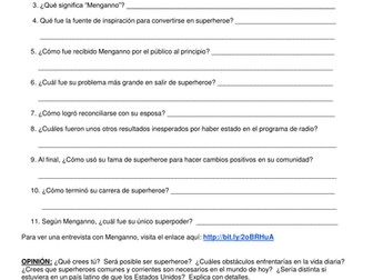 """Radio Ambulante: Episodio Auditivo :EL SUPERHEROE"""""""