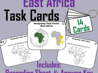 East Africa Task Cards