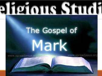 Mark's Gospel Background