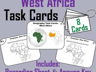 West Africa Task Cards