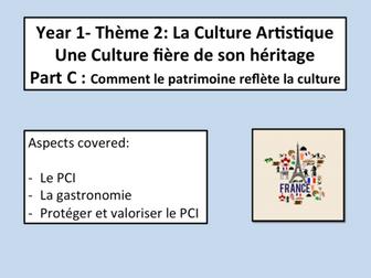 Le Patrimoine- Comment la culture reflete le patrimoine- AS FRENCH