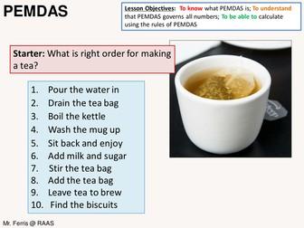 Number: PEMDAS (order of operations) - US Version (+ Resources)