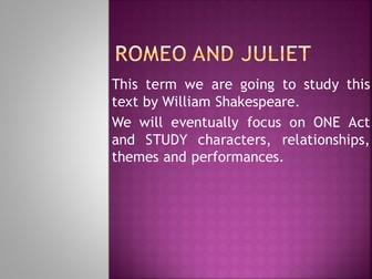 Rome & Juliet The Prologue
