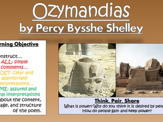 Ozymandias - Percy Bysshe Shelley