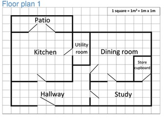 Floor plan area and perimeter functional skills activity