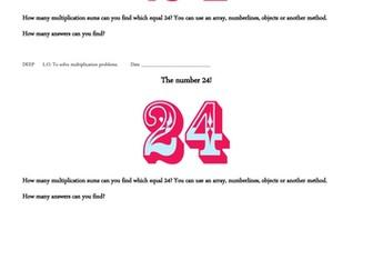 Maths Mastery - Multiplication 1