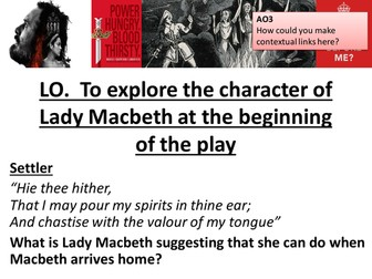 Macbeth Revision Resource AQA New Spec - Lady Macbeth
