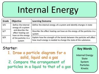 NEW Trilogy (AQA) GCSE Physics - Internal Energy