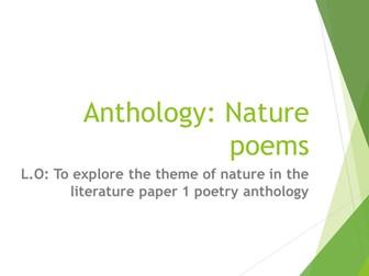 WJEC anthology