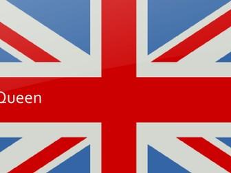The Queen ( Elizabeth II ) Birthday Lesson / Assembly Presentation KS3