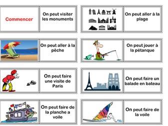 New French GCSE AQA De la ville a la campagne Point de depart 1