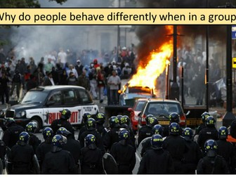 Crowd and collective behaviour