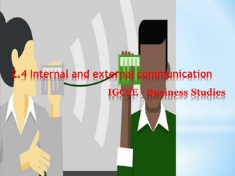 Internal and External communication in business
