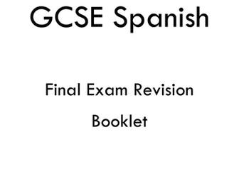 SPANISH GCSE REVISION BOOKLET