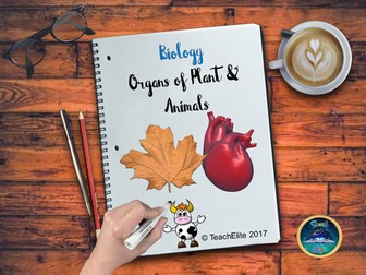 Organs of Plants and Animals AFL activity