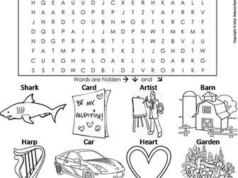 bossy r worksheets bundle ur or ir er and ar phonics word searches by sciencespot. Black Bedroom Furniture Sets. Home Design Ideas