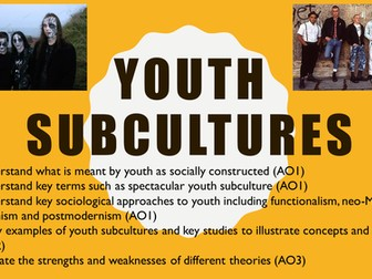 Introduction to youth subcultures