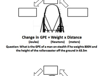 Gravitational Potential Energy Stores
