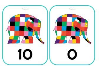 ELMER THE ELEPHANT Number bonds to 10           EYFS KS1 MATHS