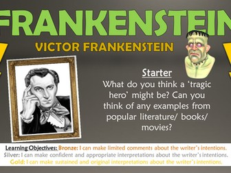 Frankenstein: Victor Frankenstein - The Tragic Hero
