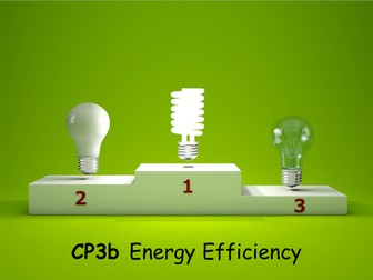 Edexcel CP3b Energy Efficiency