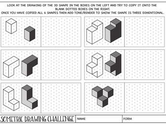 Set of 2 Graphics worksheets