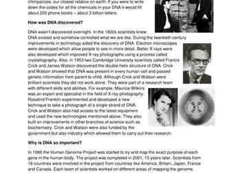 GCSE Medicine in Britain L19 DNA and Lifestyle Factors