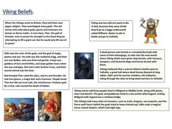 Viking Beliefs