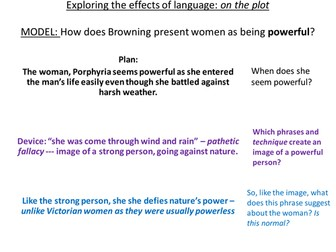GCSE: How to write effectively analyses in poetry